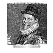 Sir John Hawkins (1532-1595) Shower Curtain