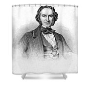 Sir Joseph Paxton Shower Curtain