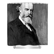 Sir Oliver Joseph Lodge Shower Curtain