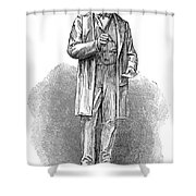 Sir Rowland Hill (1795-1879) Shower Curtain by Granger