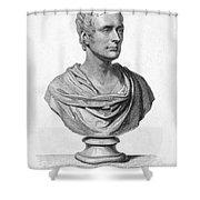 Sir Thomas S. Raffles Shower Curtain