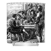 Sir Walter Raleigh Shower Curtain