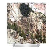Sit For A Spell At Grand Canyon In Yellowstone Shower Curtain