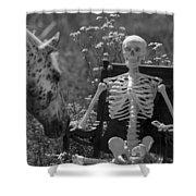 Skeleton In My Closet Shower Curtain