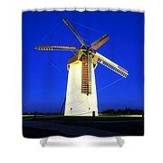 Skerries Windmill, Co Dublin, Ireland Shower Curtain