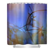 Skky Blue Thyme Shower Curtain