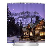 Skoki Cabin Shower Curtain