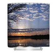 Sky At Dusk Shower Curtain
