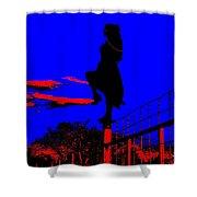 Sky Dancer Shower Curtain