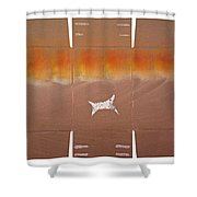 Sky Dive Shower Curtain