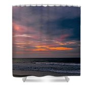 Sky Of Pastels Shower Curtain