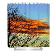 Sky Scratcher Shower Curtain