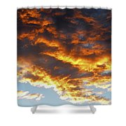 Skyfire Shower Curtain