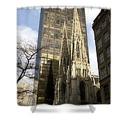 Skyscraper And Spire Shower Curtain