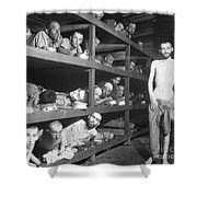 Slave Laborers In A German Shower Curtain