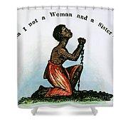 Slavery: Woman, 1832 Shower Curtain