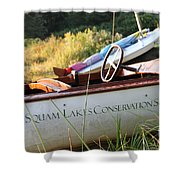 Slcs Boat Shower Curtain
