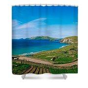 Slea Head & Blasket Islands, Dingle Shower Curtain by The Irish Image Collection
