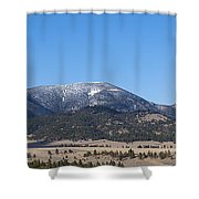 Sleeping Giant Shower Curtain