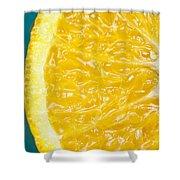 Sliced Orange Shower Curtain