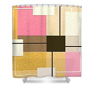 Slide Shower Curtain by Ely Arsha