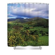 Slieve Bearnagh, Mourne Mountains, Co Shower Curtain