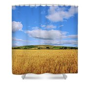 Slieveardagh Hills, Co Kilkenny Shower Curtain