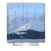 Slims River Valley, Kluane National Shower Curtain