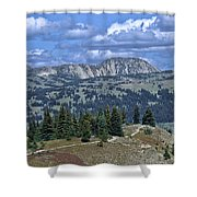 Slocan Valley Shower Curtain