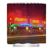 Sloppy Joes Shower Curtain