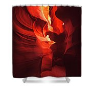 Slots On Fire Shower Curtain
