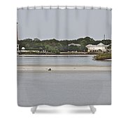 Slow Speed Shower Curtain
