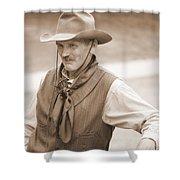 Sly Cowboy Shower Curtain