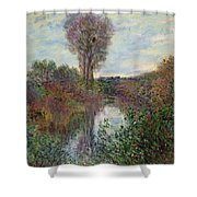 Small Branch Of The Seine Shower Curtain