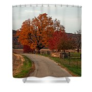 Small Country Road Shower Curtain