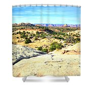 Small Distances Shower Curtain