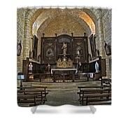Small French Chapel Shower Curtain