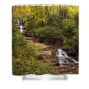 Small Stream Shower Curtain
