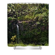 Small Waterfall - Hana Highway Shower Curtain
