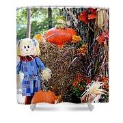 Smile It's Autumn Shower Curtain
