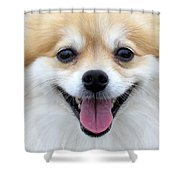 Smiley Zoey Shower Curtain