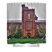 Smithsonian Castle Shower Curtain