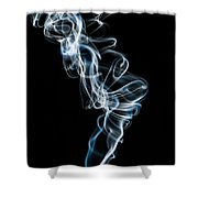 Smoke-5 Shower Curtain
