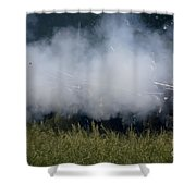 Smoke And Steel Shower Curtain