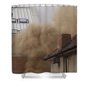 Smoke Shower Curtain