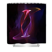 Smoke Dance Shower Curtain