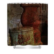 Smoke On The Porch  Shower Curtain