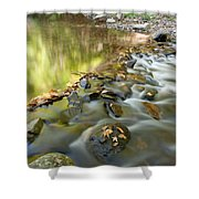 Smoky Mountain Streams Iv Shower Curtain