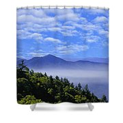 Smoky Mountains Shower Curtain