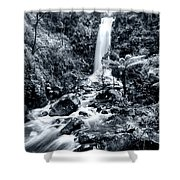 Smooth Waters Shower Curtain